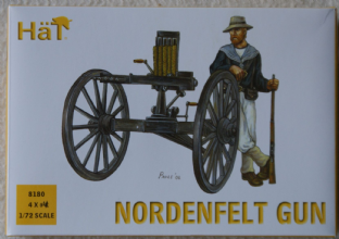 HaT 1/72 HAT8180 British Nordenfelt Gun (Colonial Wars)